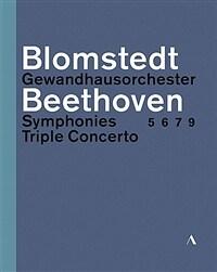 [수입] [블루레이] 베토벤 : 교향곡 5, 6, 7, 9번 & 삼중 협주곡 [3BD]