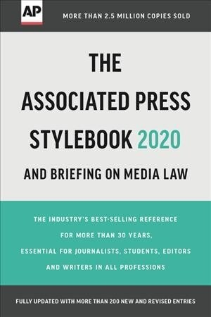 The Associated Press Stylebook: 2020-2022 (Paperback)