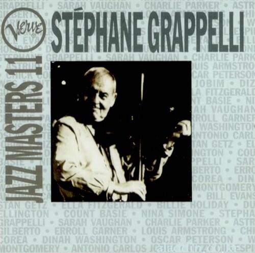 [수입] Stephane Grappelli - Jazz Masters 11