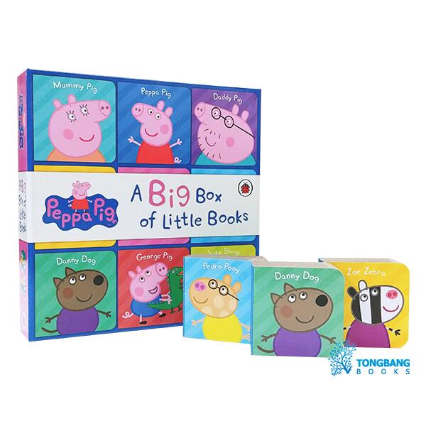 페파피그 영단어 미니 보드북 박스세트 Peppa Pig : Big Box of Little Books (Board book, 영국판)