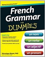 French Grammar for Dummies (Paperback)