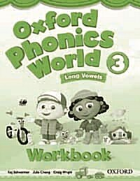 [중고] Oxford Phonics World: 3: Workbook (Paperback)