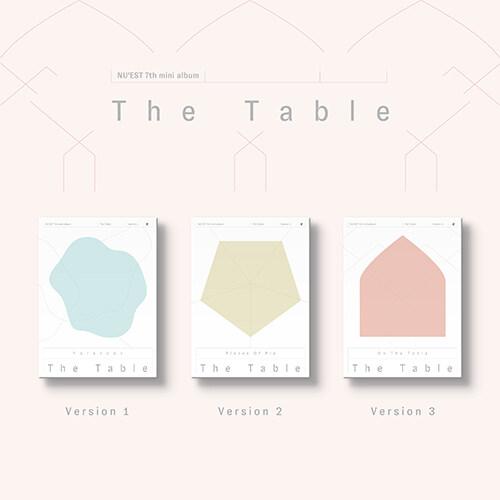 [중고] [세트] 뉴이스트 - 미니 7집 The Table [1+2+3 Ver.]