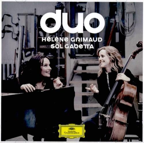 [수입] Duo - Helene Grimaud & Sol Gabetta (브람스 : 첼로 소나타 1번 E단조 / 드뷔시 : 첼로 소나타 / 쇼스타코비치 : 첼로 소나타 / 슈만 : 환상 소품)