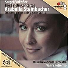 [수입] 프로코피에프 : 바이올린 협주곡 1, 2번 & 바이올린 소나타 D장조 Op.115 [SACD Hybrid]