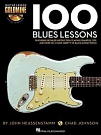 100 Blues Lessons (Paperback, Compact Disc)
