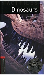 Oxford Bookworms Library Factfiles: Level 3:: Dinosaurs Audio CD Pack (Package)