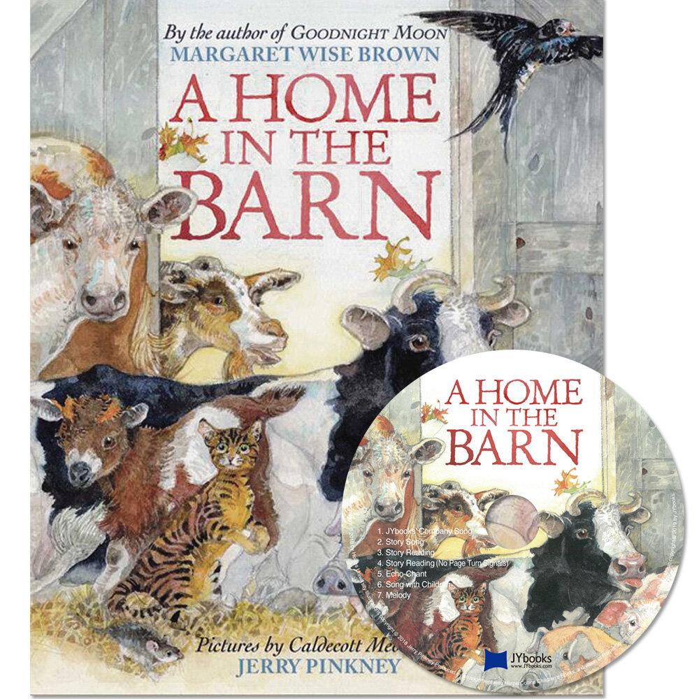 노부영 A Home in the Barn (Hardcover + CD)
