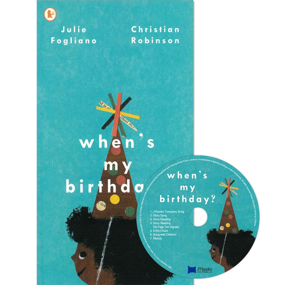 노부영 Whens My Birthday? (Paperback + CD)
