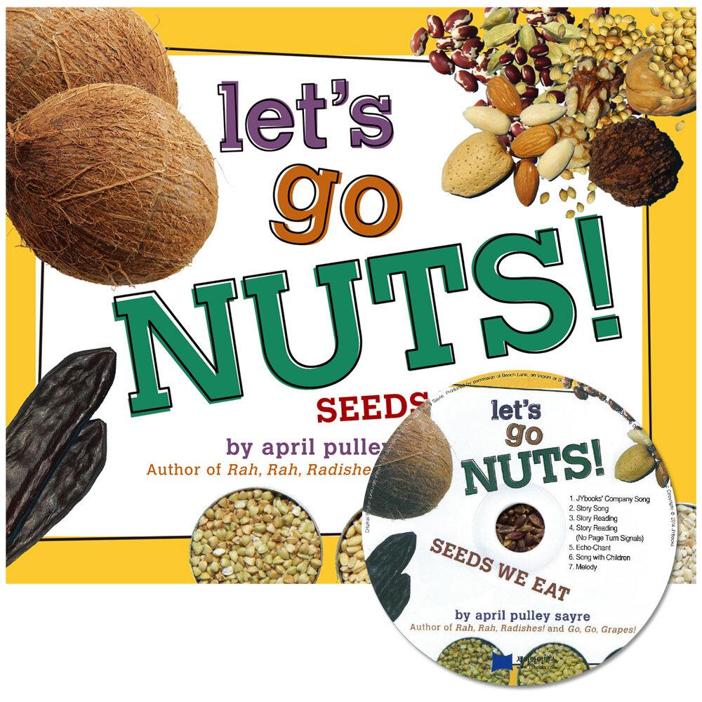 노부영 세이펜 Lets Go Nuts! (Paperback + CD)