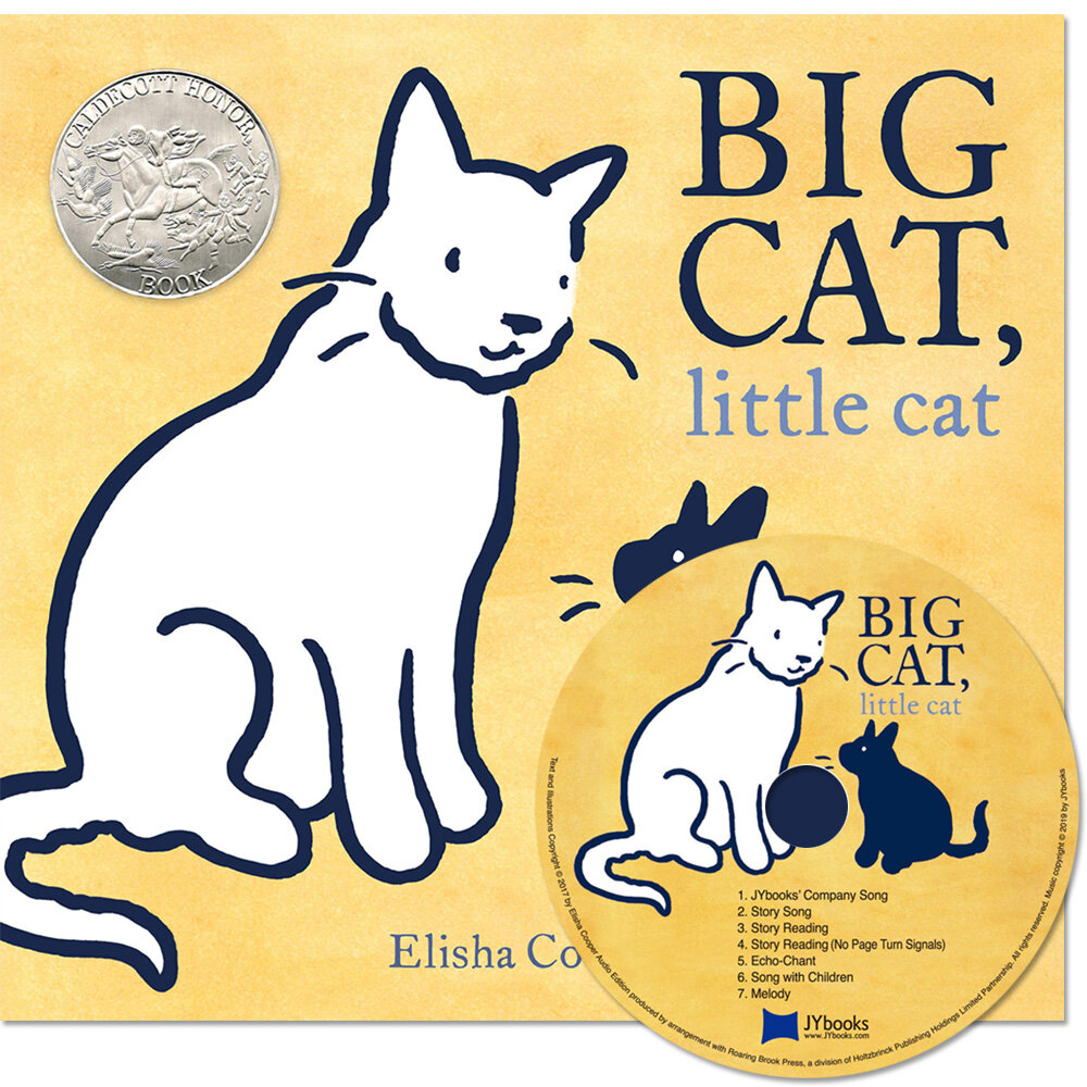 노부영 Big Cat, Little Cat (Hardcover + CD)