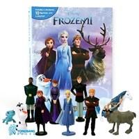 Disney Frozen 2 My Busy Book 겨울왕국 2 비지북 (미니피규어 10개 + 놀이판)
