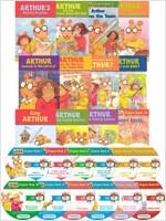 아서 챕터북 Arthur Chapter Book & CD 12종 세트(단어장+리딩가이드 포함)