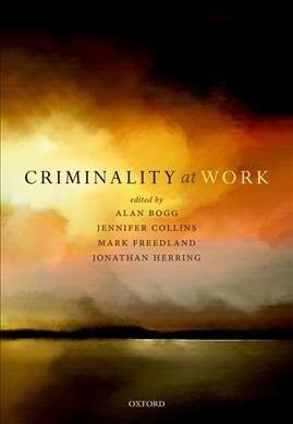 Criminality at Work (Hardcover)