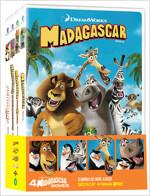 마다가스카 : 4-Movie 콜렉션 한정수량 (4disc)