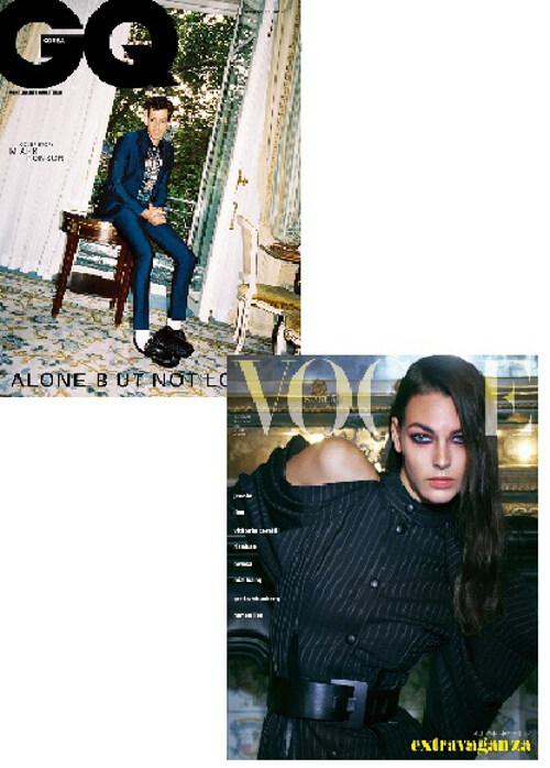 보그 Vogue Korea + 지큐 GQ Korea 2019.11 - 전2권