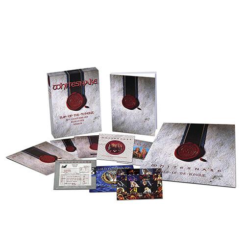 [수입] Whitesnake - Slip Of the Tongue (30th Anniversary) [Super Deluxe Boxset] [6CD+DVD]
