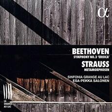 [수입] 베토벤: 교향곡 3번 '영웅' /  R.슈트라우스: 메타모르포젠 [디지팩]