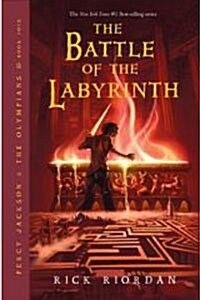 Percy Jackson and the Olympians, Book Four the Battle of the Labyrinth (Hardcover)
