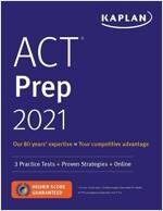 ACT Prep 2021: 3 Practice Tests + Proven Strategies + Online (Paperback)