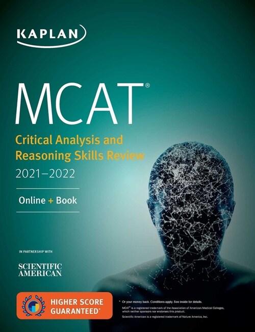 [중고] MCAT Critical Analysis and Reasoning Skills Review 2021-2022: Online + Book (Paperback)