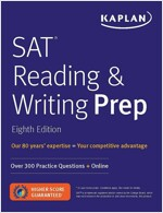 SAT Reading & Writing Prep: Over 300 Practice Questions + Online (Paperback, 8)