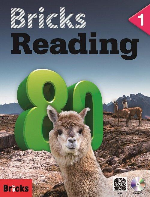 Bricks Reading 80 : 1 (Student Book + Workbook + Multi CD)