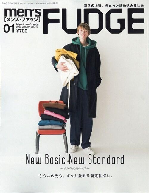 men's FUDGE 2020年 1月號