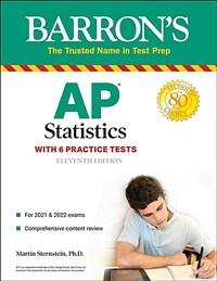 AP Statistics: With 6 Practice Tests (Paperback, 11)