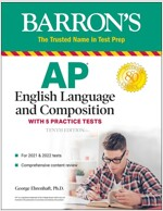 AP English Language and Composition: With 5 Practice Tests (Paperback, 10)