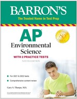 AP Environmental Science: With 2 Practice Tests (Paperback, 9)