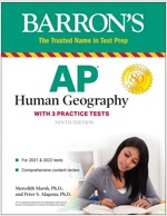 AP Human Geography: With 2 Practice Tests (Paperback, 9)