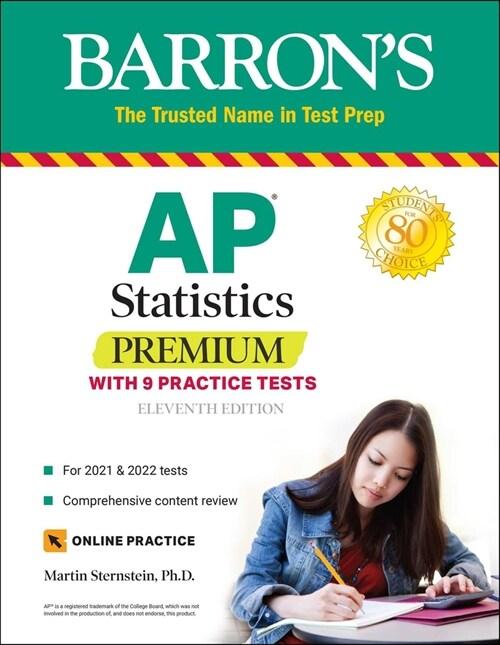 AP Statistics Premium: With 9 Practice Tests (Paperback, 11)