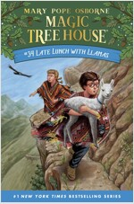Magic Tree House #34 : Late Lunch with Llamas (Hardcover)