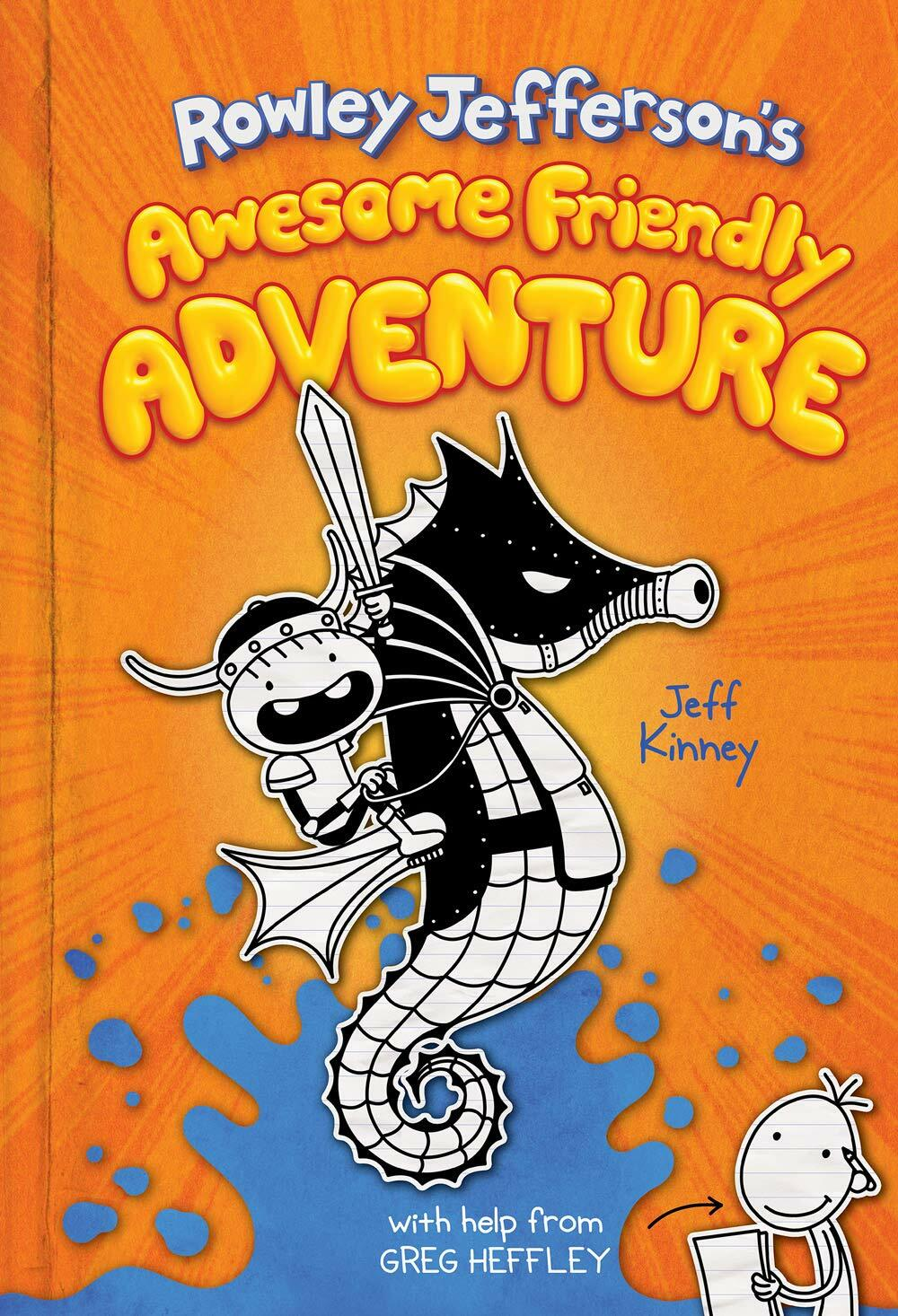 Rowley Jefferson 2 : Rowley Jeffersons Awesome Friendly Adventure (Hardcover, 미국판)