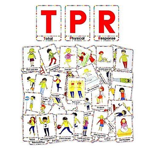 신체활동 연출 감정표현 카드 (전신 반응 교육 영어 TPR-CARD)