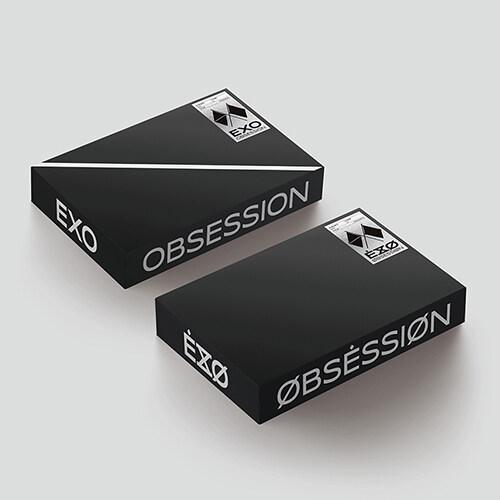 엑소 - 정규 6집 OBSESSION (EXO & X-EXO Ver.) [버전 2종 중 랜덤발송]