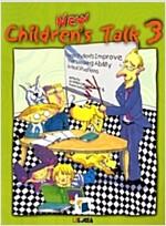 New Children's Talk 3 : Student Book (2nd Edition, Mp3 CD 1장)