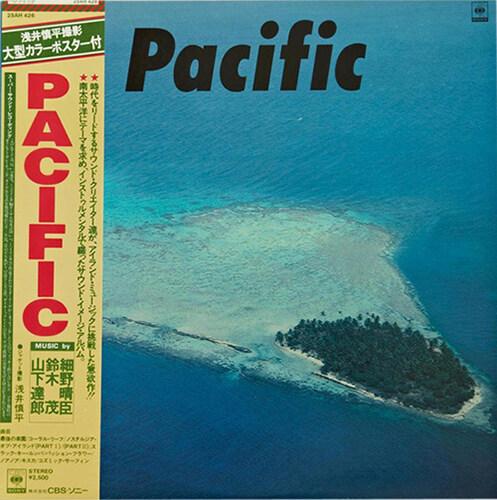 [수입] Haruomi Hosono, Shigeru Suzuki & Tatsuro Yamashita - Pacific [LP]