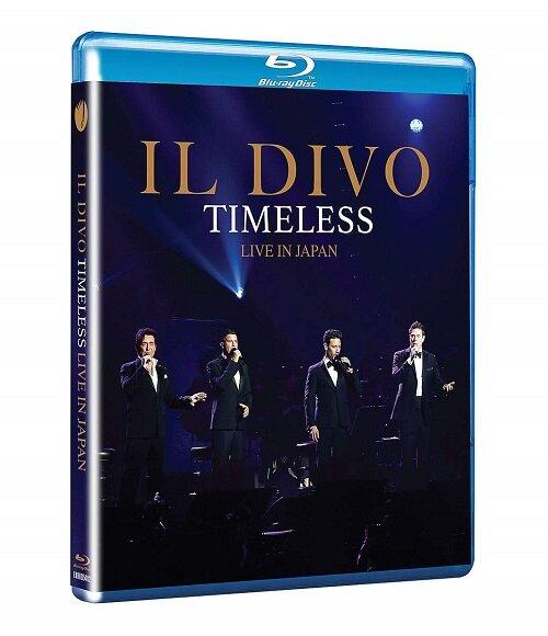 [수입] [블루레이] Il Divo - Timeless Live in Japan