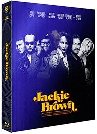 [블루레이] 재키 브라운 : 스틸북 한정판 렌티큘러 풀슬립 B