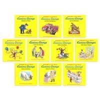 Curious George 10 Book Set 큐리어스 조지 10권 세트 (Paperback 10권)
