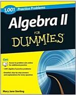 Algebra II: 1,001 Practice Problems for Dummies (+ Free Online Practice) (Paperback)