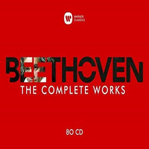 [수입] 베토벤 : 작품 전집 [80CD]