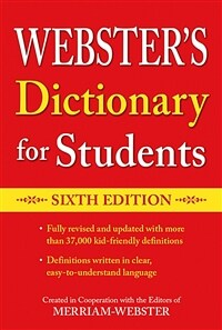 Webster's Dictionary for Students, Sixth Edition (Paperback)