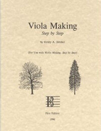 Viola Making, Step by Step (Paperback)