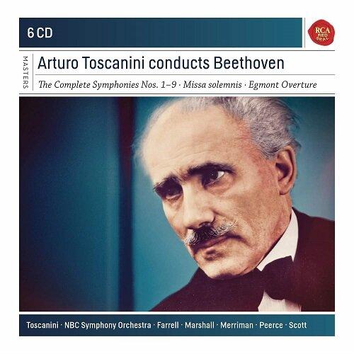 [수입] 베토벤 : 교향곡 전곡, 장엄미사 & 에그몬트 서곡 [6CD]