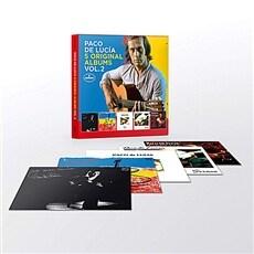 [수입] Paco De Lucia - 5 Original Albums Vol.2 (With Full Original Artwork) [5CD Boxset]