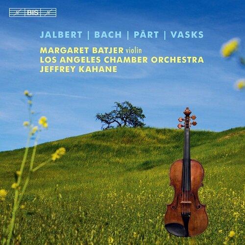 [수입] 피에르 잘베르트: 바이올린 협주곡 / 바흐: 바이올린 협주곡 BWV1041 / 바스크스: 외로운 천사 외 [SACD Hybrid]