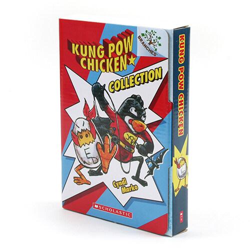 치키치키 쿵푸치킨 원서 세트 Kung Pow Chicken Boxed Set (Paperback 4권, 미국판)